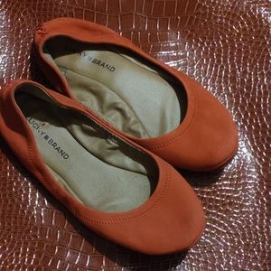 Lucky Brand flats LK.Emmie style size 9.5 see pics
